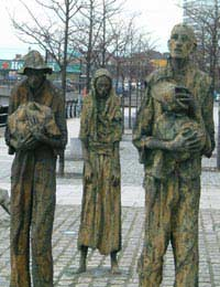 Ireland Potato Famine Emigration America